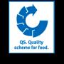 La marca QS es una marca de calidad y seguridad china para la comida, las bebidas y otros productos.