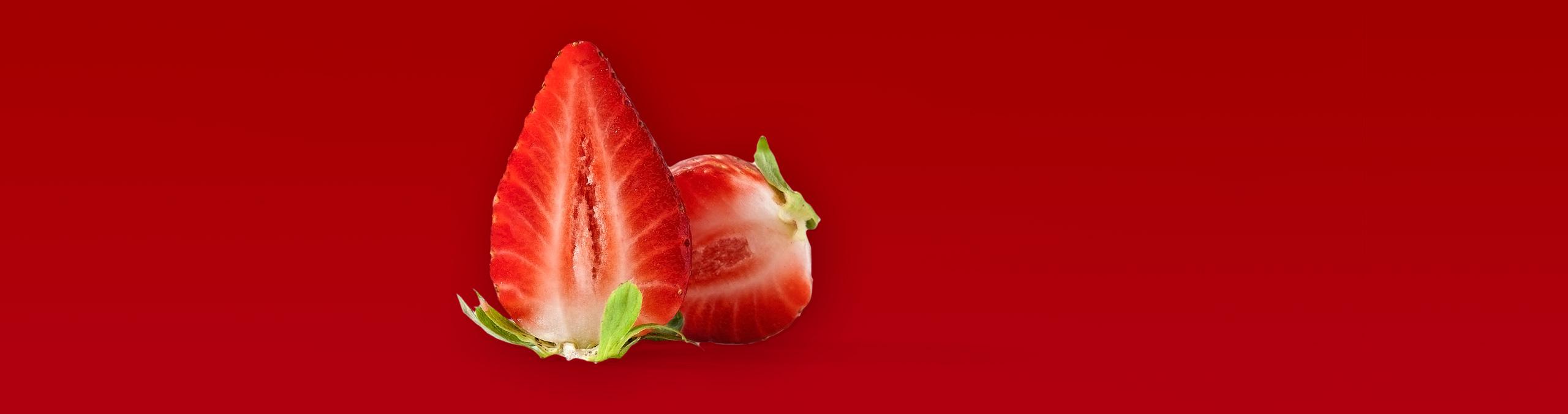 Fresas y sabor